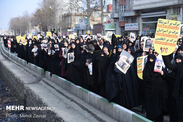 مراسم بزرگداشت سردار سلیمانی در مسجد ازگل تهران برگزار می شود