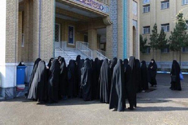 فعالیتهای فرهنگی تبلیغی «عفاف و حجاب» توسط مدارس خواهران تهران
